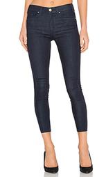 Узкие джинсы высокой посадки с обрезанным низом newton - MCGUIRE