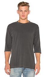 Свободная футболка с рукавом 3/4 - JOHN ELLIOTT