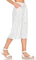 Укороченные брюки в белую полоску - Splendid