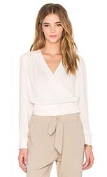 Плиссированная блуза с запахом спереди - NATIVE STRANGER