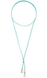Ожерелье cove - Turquoise + Tobacco