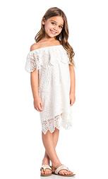 Платье со спущенными плечами seashell - Nightcap
