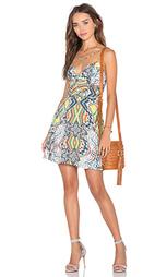 Приталенное и расклешенное платье summer breaking - NBD