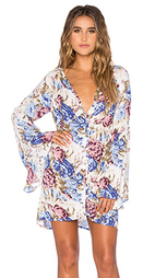 Платье-рубашка с рукавами колокол - AUGUSTE