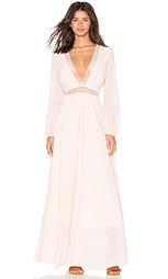 Цветочное платье с завязкой спереди - Lucy Paris