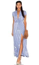 Платье с глубоким вырезом joel - Tularosa