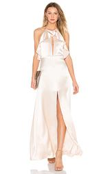 Вечернее платье на бретельках с рюшами - JILL JILL STUART