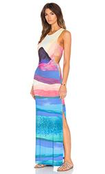 Макси платье с завязкой сзади - Mara Hoffman