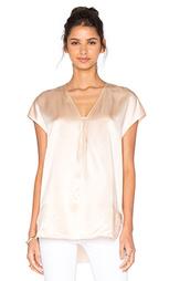 Облегающая блуза с коротким рукавом - Vince