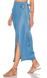 Макси юбка с запахом - Capulet