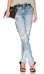 Потертые джинсы savanna - TORTOISE