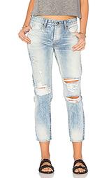 Укороченные джинсы savanna - TORTOISE