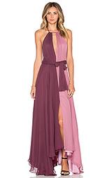 Вечернее платье с колорблок - JILL JILL STUART