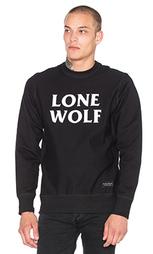 Свитшот с круглым вырезом под горло lone wolf - Raised by Wolves