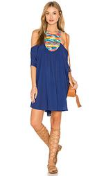 Платье в восточном стиле с вышивкой - Mara Hoffman