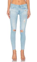 Укороченные джинсы legging ankle - AG Adriano Goldschmied