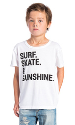Футболка surf skate & sunshine - Chaser