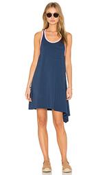 Мини платье с асимметричным подолом - SUNDRY