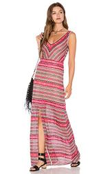 Макси платье deep v - Cecilia Prado