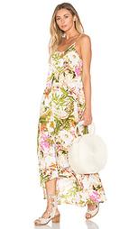 Макси платье resort - Pink Stitch