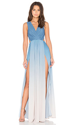 Макси платье с расцветкой омбре - THE JETSET DIARIES