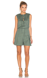 Ромпер sleeveless lace up - DEREK LAM 10 CROSBY