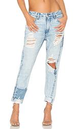 Потертые джинсы в мужском стиле testudo - TORTOISE