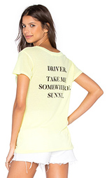 Футболка take me somewhere - Wildfox Couture