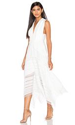 Ажурное макси платье argent - Acler