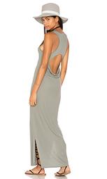 Макси платье peek-a-boo - Heather