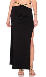 Макси юбка с высоким разрезом gigi - Indah