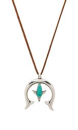 Ожерелье peyote - Turquoise + Tobacco