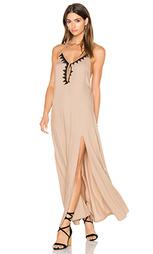 Макси-платье холтер nunu - Aila Blue