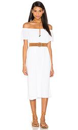 Крестьянское платье с открытыми плечами - Wilt
