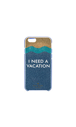 Чехол на iphone 6 i need a vacation - kate spade new york