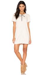 Замшевое цельнокройное платье ivy - Bishop + Young