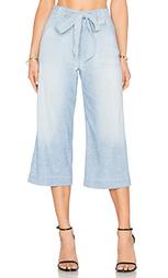 Укороченные брюки палаццо - 7 For All Mankind