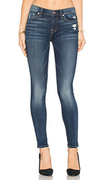 Состаренные облегающие джинсы the squiggle - 7 For All Mankind