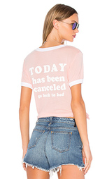 Футболка today is cancelled - Wildfox Couture