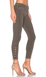 Укороченные джинсы со шнуровкой nix - Hudson Jeans