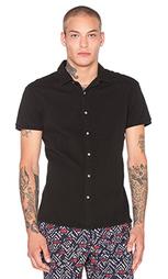Рубашка с коротким рукавом shortsleeve jersey shirt in pique structure - Scotch & Soda