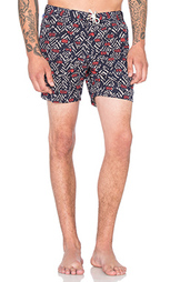 Шорты all over printed swimshort in fine peached quality - Scotch & Soda