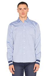 Рубашка с манжетами в рубчик - CLOT