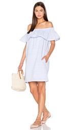 Мини платье lea ruffle - Line & Dot