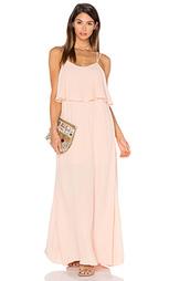 Макси платье alexa - Pink Stitch