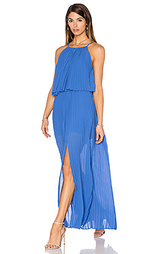 Макси платье amelie pleat - Line & Dot