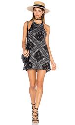 Мини платье с высоким воротом scotty - Michael Lauren