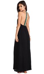 Платье-макси exclusive veve - WOODLEIGH