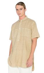 Свободная рубашка с частичной застёжкой - Our Legacy