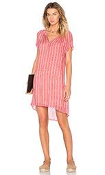 Прозрачное цельнокройное платье с дымчатым принтом lacey - Velvet by Graham & Spencer